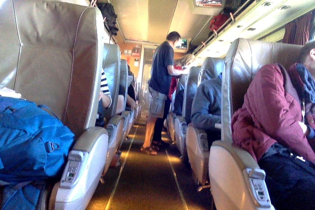 post 1 (train car)
